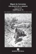 DON QUIJOTE DE LA MANCHA. SEGUNDA PARTE. CAPÍTULO 73 (TEXTO ADAPTADO AL CASTELLANO MODERNO POR ANTONIO GÁLVEZ ALCAIDE) (EBOOK) - cdlap00002664