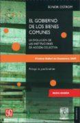 EL GOBIERNO DE LOS BIENES COMUNES (2ª ED.) - 9786071606174 - ELINOR OSTROM