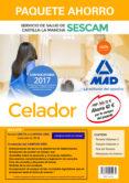 PAQUETE AHORRO CELADOR DEL SERVICIO DE SALUD DE CASTILLA-LA MANCH A (SESCAM) (INCLUYE TEMARIO VOLUMENES 1 Y 2; TEST; SIMULACROS DE EXAMEN Y ACCESO CAMPUS ORO) - 9788414204474 - VV.AA.