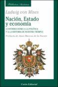 NACION, ESTADO Y ECONOMIA - 9788472095274 - LUDWIG VON MISES