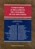 COMENTARIOS AL REGLAMENTO DEL CONGRESO DE LOS DIPUTADOS - 9788479434274 - MARIA ROSA RIPOLLES SERRANO