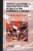 INSTITUCIONES Y NUEVA GESTION PUBLICA EN AMERICA LATINA - 9788487072574 - CARLES RAMIO