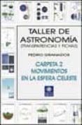 TALLER DE ASTRONOMIA: TRANSPARENCIAS Y FICHAS (CARPETA 2, MOVIMIE NTOS EN LA ESFERA CELESTE) - 9788495495174 - PEDRO GRANADOS