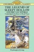 THE LEGEND OF SLEEPY HOLLOW AND RIP VAN WINKLE - 9780486288284 - WASHINGTON IRVING