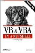 VB & VBA IN A NUTSHELL: THE LANGUAGE - 9781565923584 - PAUL LOMAX