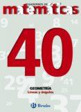 CUADERNOS DE MATEMATICAS 40: GEOMETRIA - 9788421642184 - VV.AA.