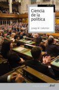 ciencia de la política (ebook)-josep m. colomer-9788434425484
