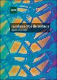 fundamentos de sintaxis (ebook)-agustin vera lujan-9788436272284