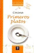 COCINA PRIMEROS PLATOS - 9788497943284 - VV.AA.