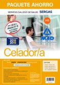 PAQUETE AHORRO CELADOR DEL SERVICIO GALLEGO DE SALUD (INCLUYE TEM ARIO PARTE COMUN Y TEST PARTE COMÚN Y TEST; TEMARIO ESPECIFICO VOLUMENES 1 Y 2; TEST Y SUPUESTOS PRÁCTICOS; Y ACCESO GRATIS AL CAMPUS) - 9788414216194 - VV.AA.