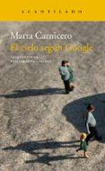 EL CIELO SEGUN GOOGLE - 9788417346294 - MARTA CARNICERO