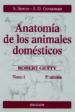 ANATOMIA DE LOS ANIMALES DOMESTICOS TOMO I (5ª ED.) S. SISSON ROBERT GETTY J.D. GROSSMAN