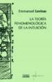 la teoria fenomenologica de la intuicion-9788430115464