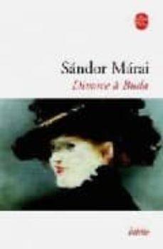 divorce a buda-sandor marai-9782253130604