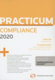 Coberta del llibre: Practicum Compliance : 2020