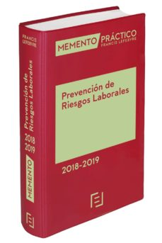 memento prevención de riesgos laborales 2018/2019-9788417162504
