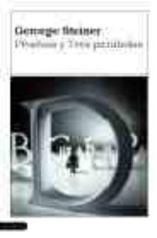 pruebas y tres parabolas-george steiner-9788423323104