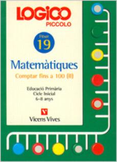 Padella.mx Logico Piccolo Matematiques Comptar Fins A 100 Ii Fitxer 19 Cicle Inicial (6 - 8 Anys) Image