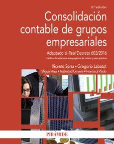Bressoamisuradi.it Consolidacion Contable De Grupos Empresariales (3ª Ed.) Image