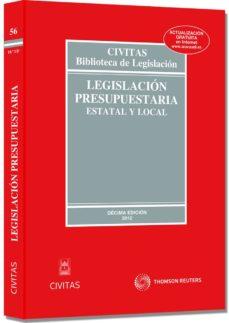 Inciertagloria.es Legislacion Presupuestaria (10ª Ed) Image