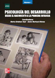 psicologia del desarrollo i: desde el nacimiento a la primera i nfancia-9788448168704