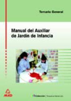 Geekmag.es Manual Auxiliar De Jardin De Infancia. Temario Image