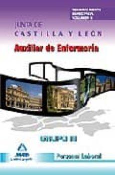 Inmaswan.es Auxiliar De Enfermeria Grupo Iii Personal Laboral De La Junta De Castilla Y Leon. Temario Parte Especifica. Volumen Ii Image