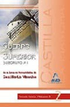 Valentifaineros20015.es Cuerpo Superior (Subgrupo A1) De La Junta De Comunidades De Casti Lla La Mancha: Temario Comun Volumen Ii Image