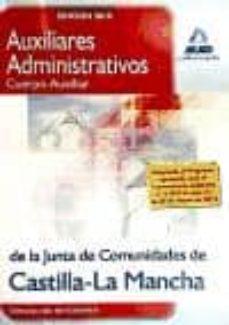 Curiouscongress.es Auxiliares Administrativos (Cuerpo Auxiliar) De La Junta De Comun Idades De Castilla-la Mancha. Simulacros De Examen Image