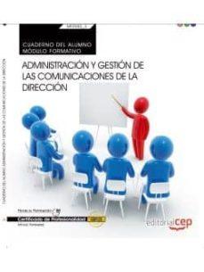 Inmaswan.es (Mf0982_3: Transversal) Cuaderno Del Alumno. Administración Y Gestión De Las Comunicaciones De La Dirección . Certificados De Image