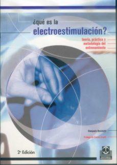 Descargar ebooks gratuitos para kindle torrents ¿QUE ES LA ELECTROESTIMULACION?: TEORIA, PRACTICA Y METODOLOGIA D EL ENTRENAMIENTO 9788480195904 de GIANPAOLO BOSCHETTI  (Spanish Edition)