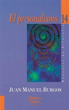 Curiouscongress.es El Personalismo, Autores Y Temas De Una Nueva Filosofia Image