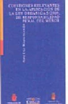 cuestiones relevantes en la aplicacion de la ley organica 5/2000, de responsabilidad penal del menor-sara (coord.) diez riaza-9788484681304