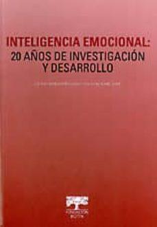 Scintillaemattone.it Inteligencia Emocional: 20 Años De Investigacion Y Desarrollo Image