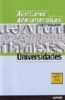 Curiouscongress.es Auxiliares De Universidades: Cuestionarios Image