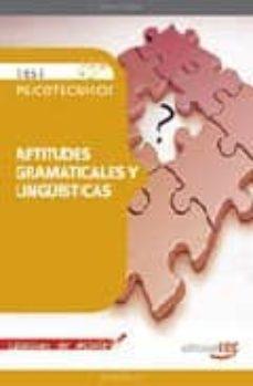 Costosdelaimpunidad.mx Test Psicotecnicos Aptitudes Gramaticales Y Linguisticas. Colecci On De Bolsillo Image