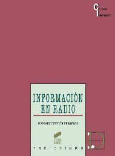 información en radio-mariano cebrian herreros-9788499589404