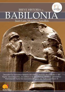 breve historia de babilonia (ebook)-juan luis montero fenollos-9788499673004