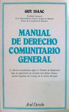 Bressoamisuradi.it Manual De Derecho Comunitario General Image