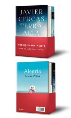 Google books descarga gratuita pdf PACK PREMIO PLANETA 2019 Y FINALISTA 2019. (CONTIENE TERRA ALTA + ALEGRIA) 8432715120414  en español