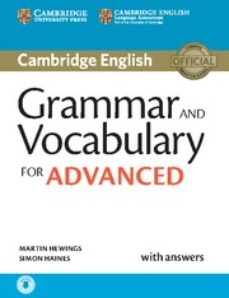 Foro abierto descarga de libros GRAMMAR AND VOCABULARY FOR ADVANCED BOOK WITH ANSWERS AND AUDIO: SELF-STUDY GRAMMAR REFERENCE AND PRACTICE MOBI DJVU 9781107481114