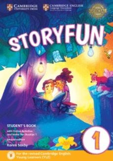 Descargar ebook francais gratuit STORYFUN FOR STARTERS (2ND EDITION - 2018 EXAM) 1 STUDENT S BOOK WITH ONLINE ACTIVITIES & HOME FUN BOOKLET (Spanish Edition) MOBI CHM iBook