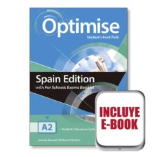 Libros online para descargar en pdf. OPTIMISE A2 EXAM BKLT STUDENT´S  BOOK PACK 9781380015914 (Spanish Edition) de