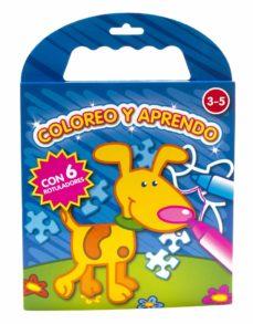Vinisenzatrucco.it Coloreo Y Aprendo: Azul Oscuro (Con 6 Rotuladores) Image