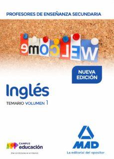 profesores de enseñanza secundaria ingles: temario (vol. 1)-9788414209714