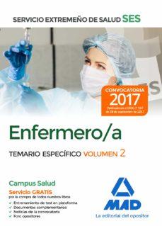 enfermero/a del servicio extremeño de salud (ses): temario especifico (vol. 2)-9788414211014