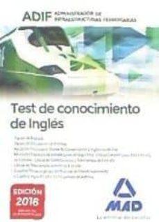 Colorroad.es Test De Conocimientos De Ingles. Administrador De Infraestructuras Ferroviarias (Adif) Image