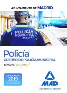 Alienazioneparentale.it Policia Del Cuerpo De Policia Municipal Del Ayuntamiento De Madrid: Temario (Vol. 1) Image