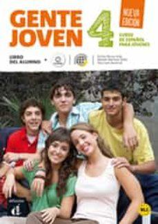 Descargas de libros para ipads GENTE JOVEN 4 NUEVA EDICIÓN LIBRO DEL ALUMNO + CD