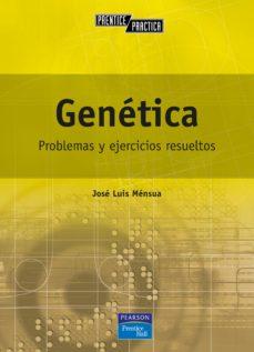 genetica: problemas y ejercicios resueltos-jose luis mensua fernandez-9788420533414